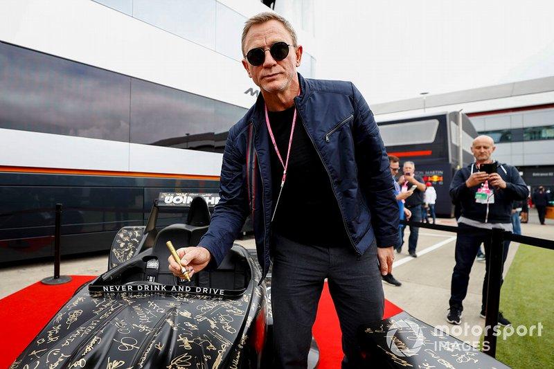 El actor Daniel Craig