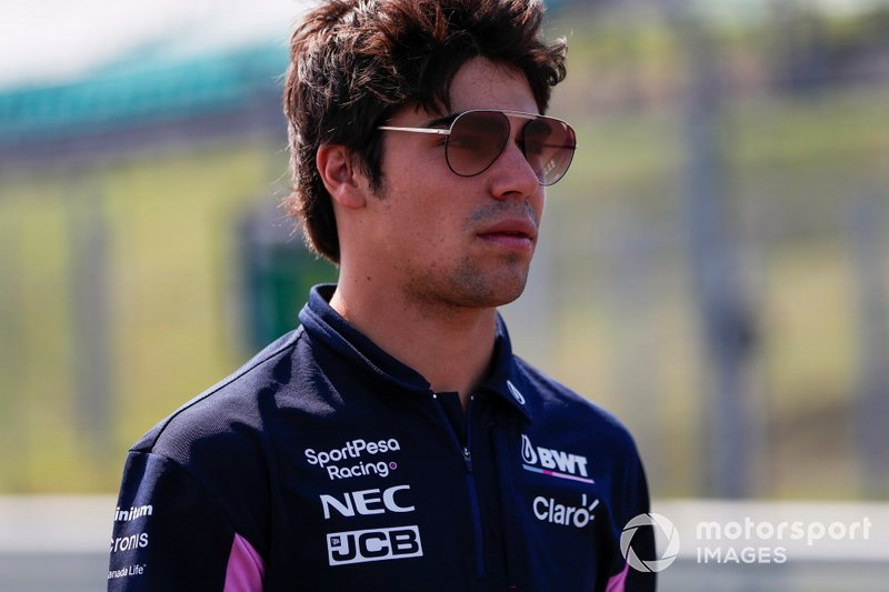Racing Point: Lance Stroll - Confirmado