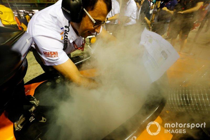 Raffreddamento del cockpit nella McLaren