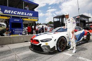 GTLM Ganador de la pole #25 BMW Team RLL BMW M8 GTE, GTLM: Tom Blomqvist