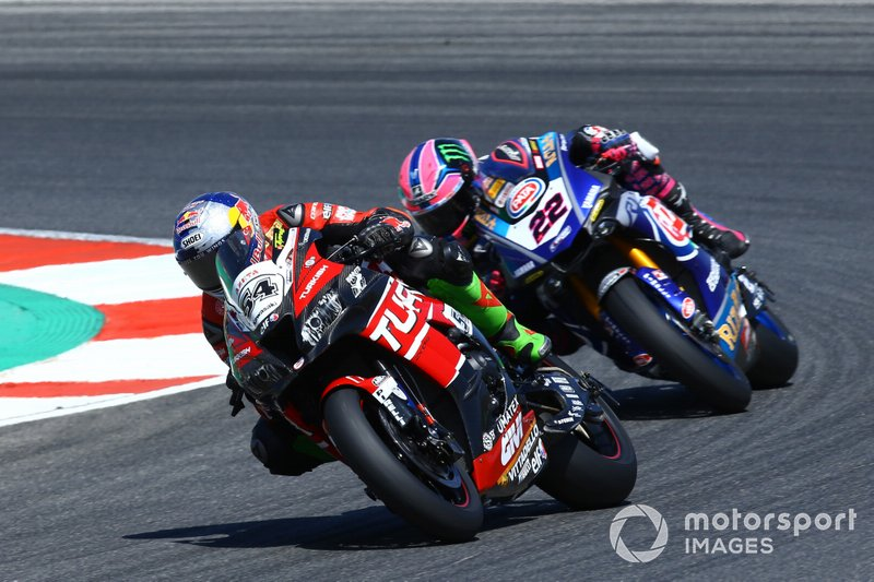 Toprak Razgatlioglu, Turkish Puccetti Racing, Alex Lowes, Pata Yamaha