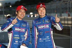 大嶋和也、山下健太(#6 WAKO'S 4CR LC500)