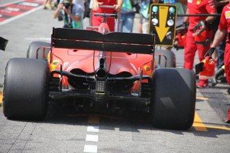 Ferrari SF90 diffuser detail