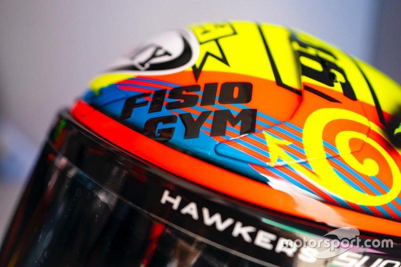 Il casco di Francesco Bagnaia, Pramac Racing