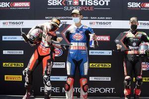 Podio: Scott Redding, Aruba.It Racing - Ducati, Top Rak Razgatlioglu, Jonathan Rea, Kawasaki Racing Team WorldSBK