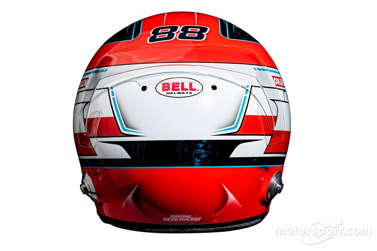 Casque de Robert Kubica, Alfa Romeo Racing