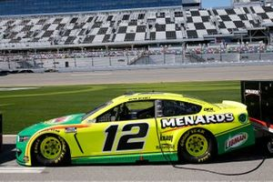 Ryan Blaney, Team Penske, Ford Mustang Menards/Libman