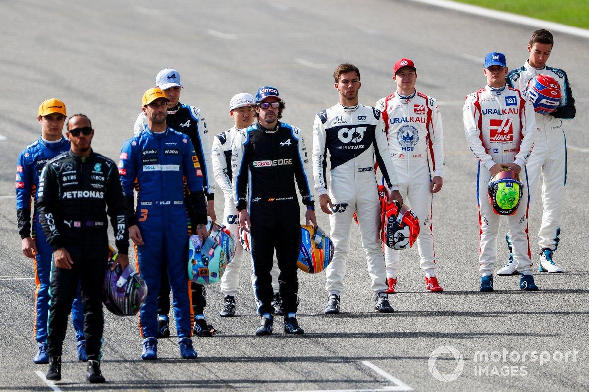 Nikita Mazepin, Haas F1 y Mick Schumacher, Haas F1