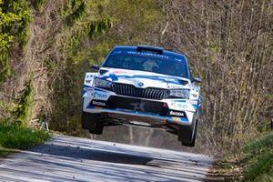 Emil Lindholm, Mikael Korhonen, Skoda Fabia Evo Rally2