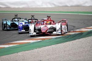 Sergio Sette Camara, Dragon Penske Autosport, Penske EV-5, Maximilian Gunther, BMW i Andretti Motorsport, BMW iFE.21, Sam Bird, Jaguar Racing, Jaguar I-TYPE 5