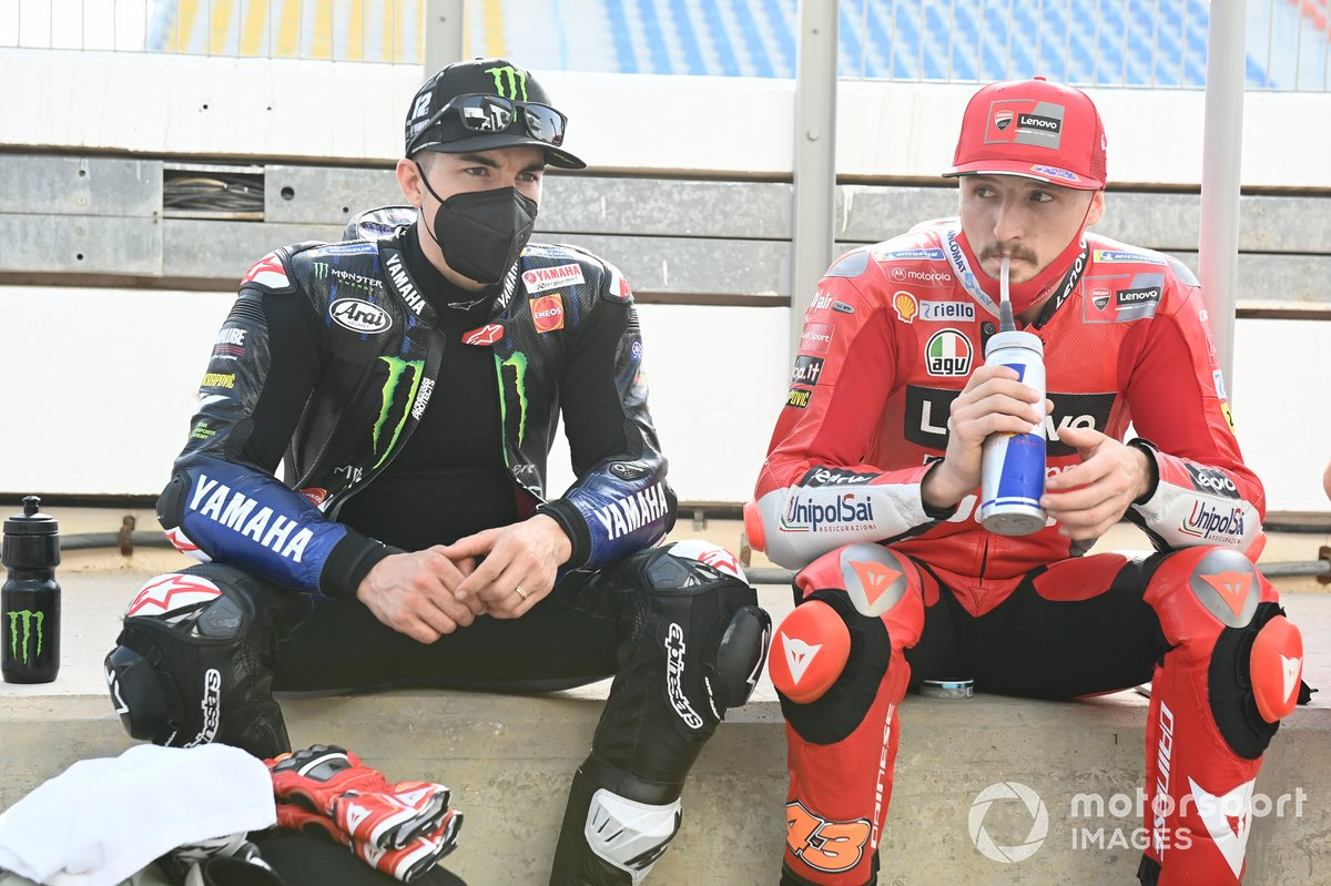 Maverick Viñales, Yamaha Factory Racing, Jack Miller, Ducati Team