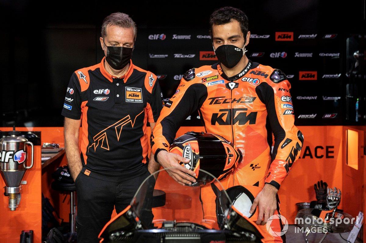 Danilo Petrucci, KTM Tech3, Iker Lecuona, KTM Tech3