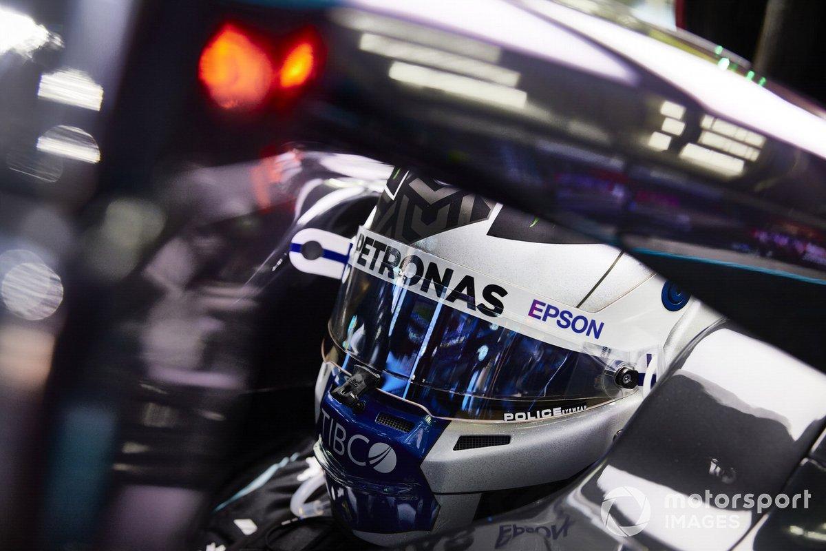Valtteri Bottas, Mercedes-AMG F1 nella sua auto