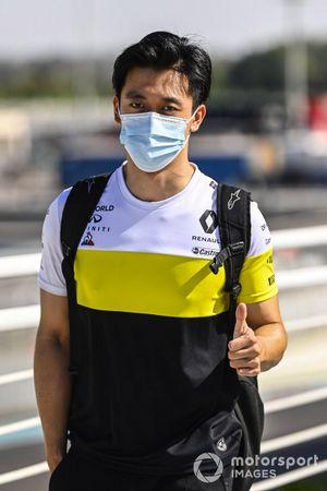 Guanyu Zhou, Renault Sport Academy driver