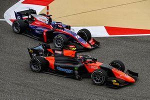 Felipe Drugovich, MP Motorsport leads Roy Nissany, Trident