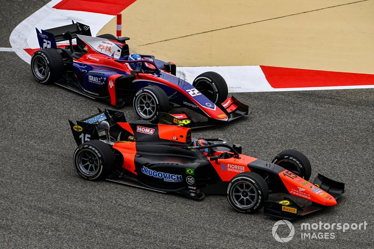 Felipe Drugovich, MP Motorsport precede Roy Nissany, Trident
