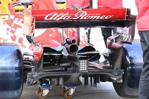 Alfa Romeo Racing C39 diffuser detail
