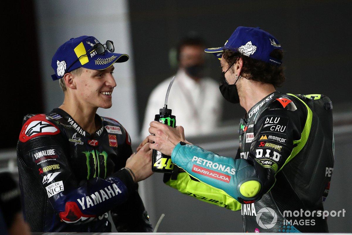 Fabio Quartararo, Yamaha Factory Racing, Valentino Rossi, Petronas Yamaha SRT