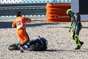 Valentino Rossi, Yamaha Factory Racing na de crash