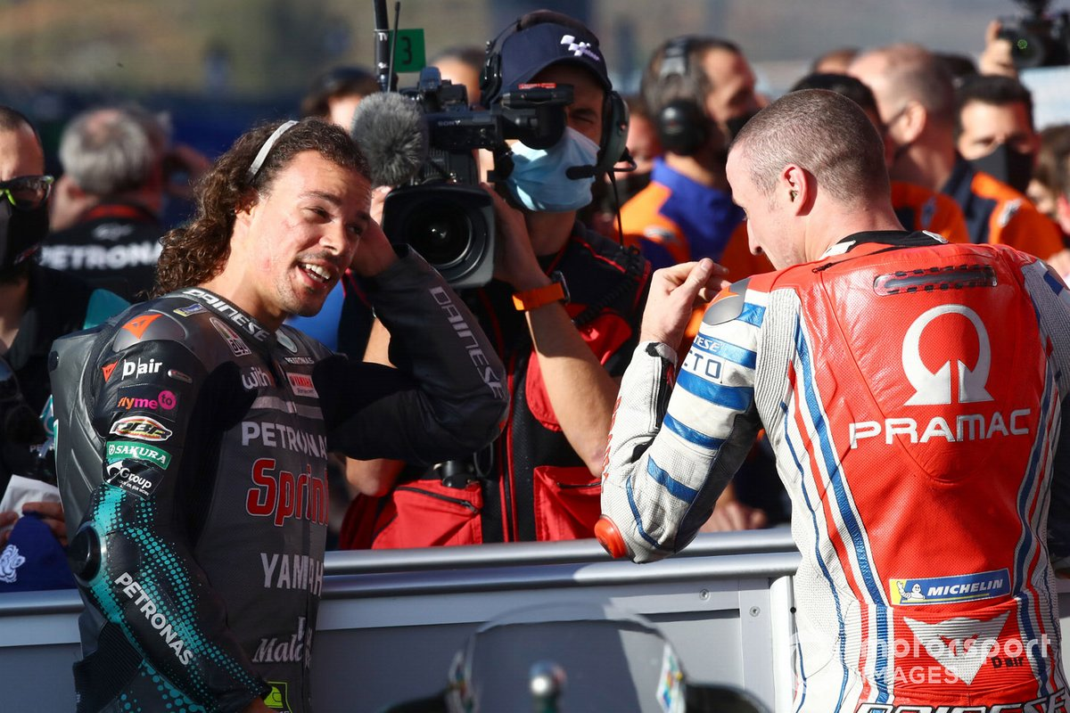 Franco Morbidelli, Petronas Yamaha SRT, Jack Miller, Pramac Racing