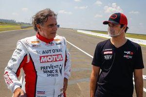 Nelson e Nelsinho Piquet
