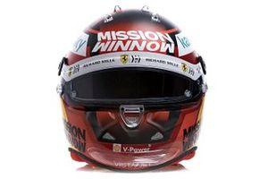 Helmet of Carlos Sainz Jr., Ferrari