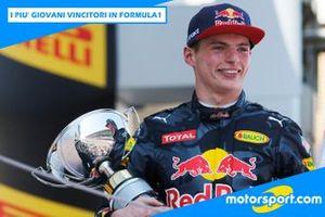 Cover: I più giovani vincitori in Formula 1