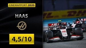 Eindrapport Formule 1 2020: Haas