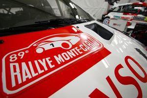 Detail Sébastien Ogier, Julien Ingrassia, Toyota Gazoo Racing WRT Toyota Yaris WRC
