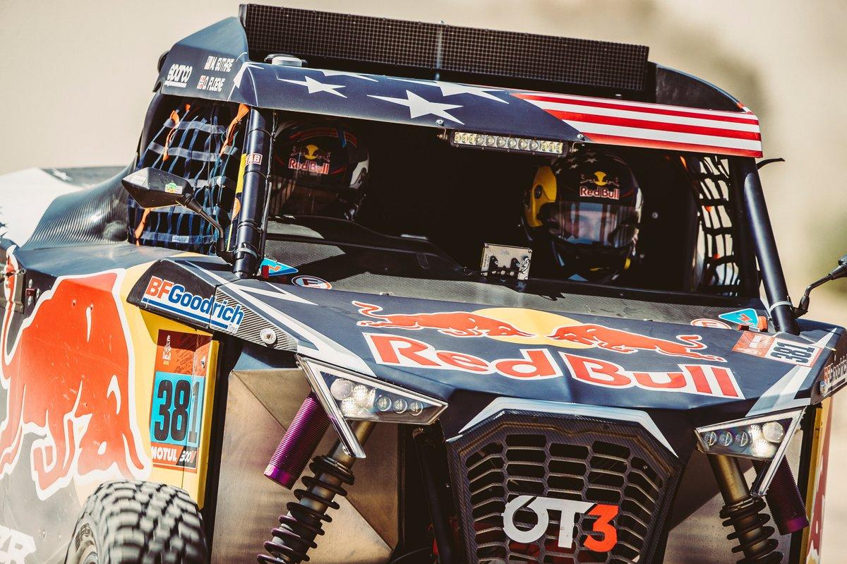 #381 Red Bull Off-Road Team USA OT3: Mitchell Guthrie, Ola Floene