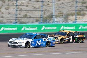 Chase Briscoe, Stewart-Haas Racing, Ford Mustang HighPoint.com, Kurt Busch, Chip Ganassi Racing, Chevrolet Camaro Gearwrench