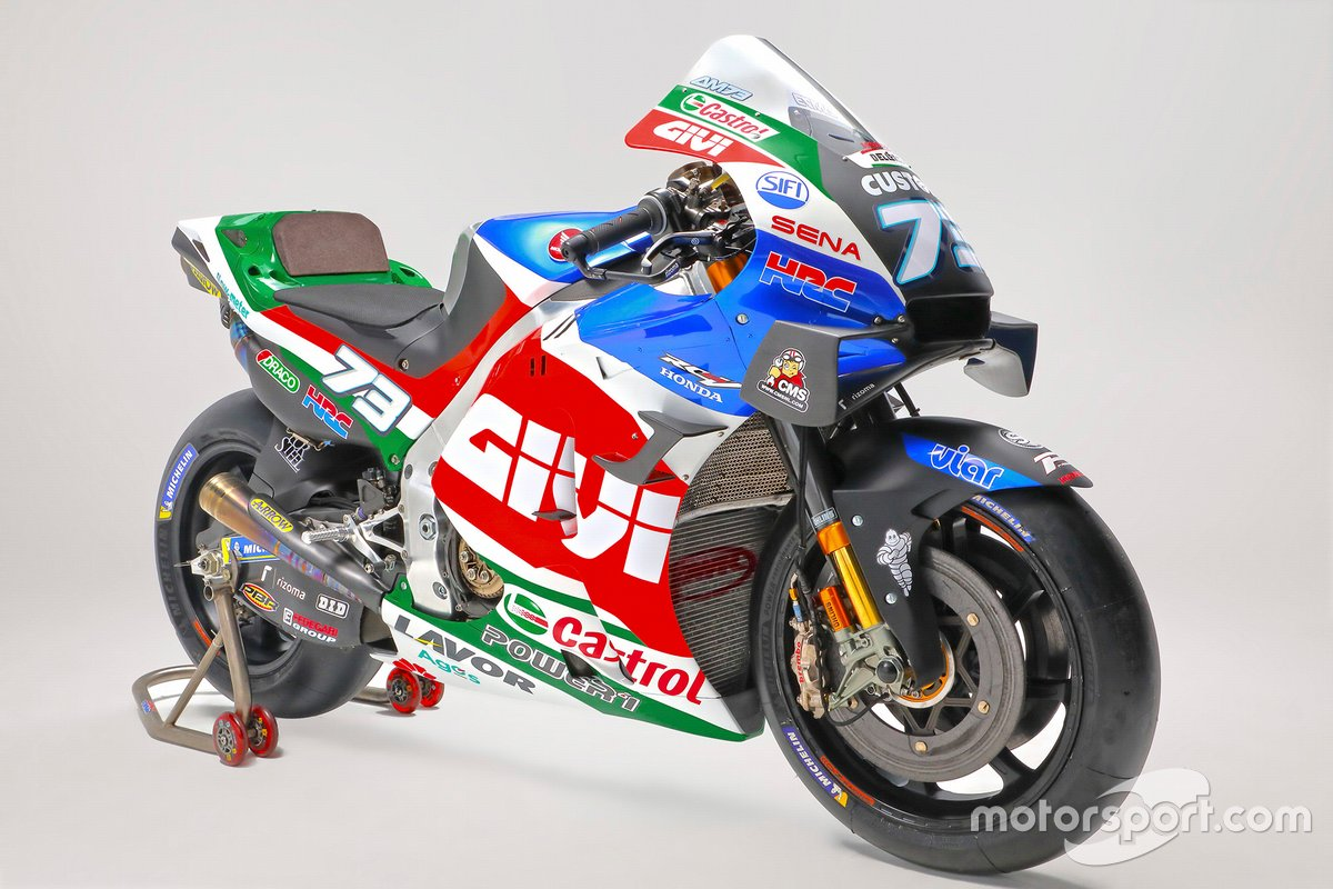 Bike of Alex Marquez, Team LCR Honda