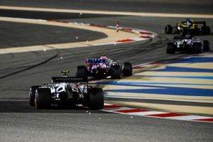 Lance Stroll, Racing Point RP20, Pierre Gasly, AlphaTauri AT01
