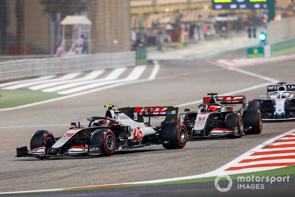 Kevin Magnussen, Haas VF-20, Pietro Fittipaldi, Haas F1 Haas VF-20, Jack Aitken, Williams FW43