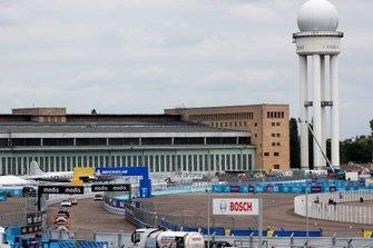 Rear action at Tempelhof Airport