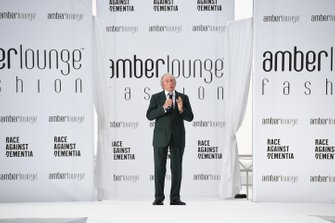 Jackie Stewart at the Amber Lounge Fashion Show