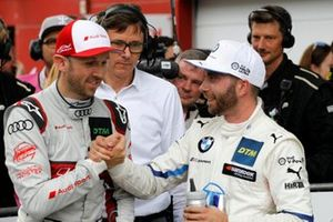 René Rast, Audi Sport Team Rosberg, with Philipp Eng, BMW Team RBM