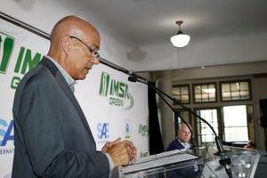 IMSA Green Press conference. IMSA CEO Scott Atherton, EPA, SAE, Smartway