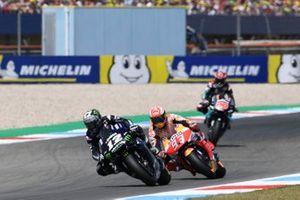 Maverick Vinales, Yamaha Factory Racing, Marc Marquez, Repsol Honda Team, Fabio Quartararo, Petronas Yamaha SRT