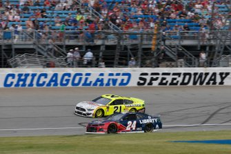William Byron, Hendrick Motorsports, Chevrolet Camaro Liberty University Paul Menard, Wood Brothers Racing, Ford Mustang Menards / FVP