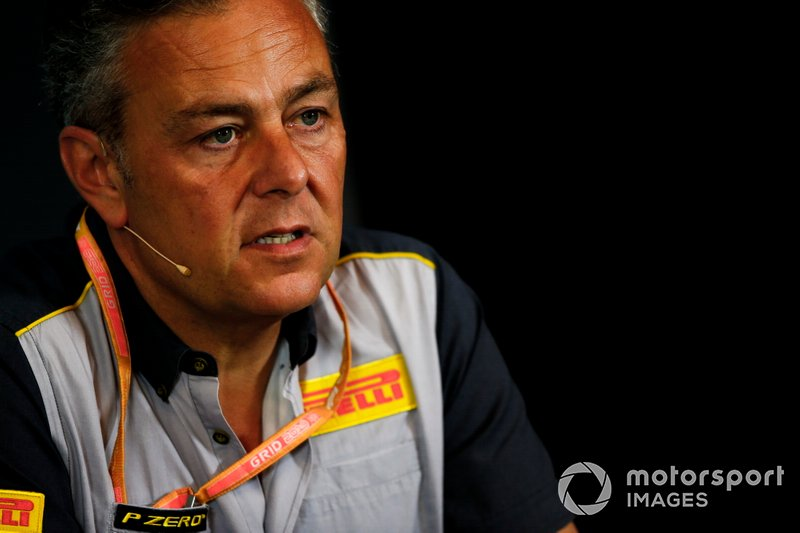 Mario Isola, Racing Manager, Pirelli Motorsport, durante la conferenza stampa dei team principal