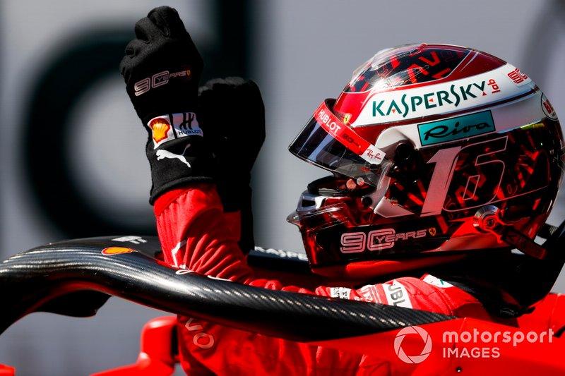 Singapur: Charles Leclerc, Ferrari