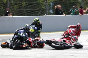 Jorge Lorenzo, Repsol Honda Team crash