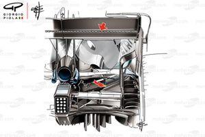 الجناح الخلفي لسيارة مرسيدس دبليو10