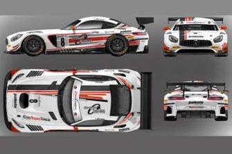 Mercedes-AMG GT3, Antonelli Motorsport