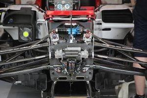 Detalle delantero del Alfa Romeo Racing