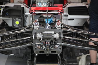 Alfa Romeo Racing front detail