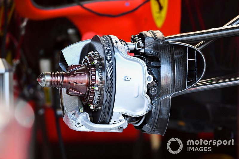 Disco de freno delantero del Ferrari SF90