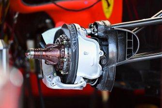 Front brake disk of Ferrari SF90
