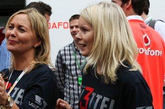 Hanna Prater, novia de Sebastian Vettel